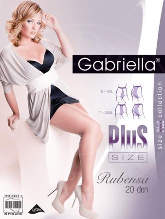 Rajstopy Rubensa Plus Size 20 den, melisa